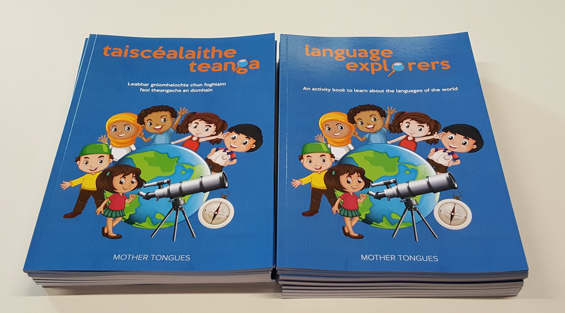 Language Explorers books